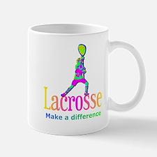Lacrosse Goalie Make A Difference Mug