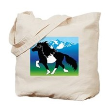Pinto Icelandic horse Tote Bag