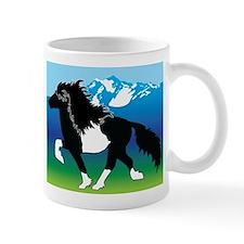 Pinto Icelandic horse Mug