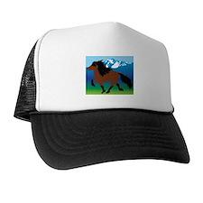 Bay Icelandic horse Trucker Hat
