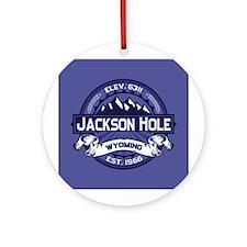 Jackson Hole Midnight Ornament (Round)