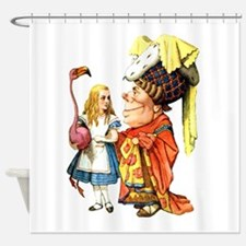 ALICE & THE DUCHESS Shower Curtain