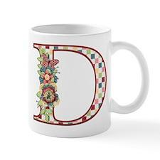 Monogram Letter D Mug