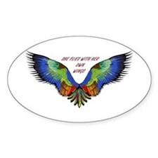 She Flies Decal