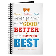 Good, Better, Best Journal