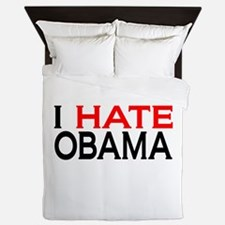 IHateObama Queen Duvet