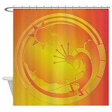 Kokopelli Under the Sun #3 Shower Curtain