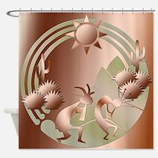 Bronze Sun Shower Curtain