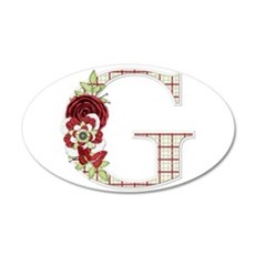 Monogram Letter G Wall Decal