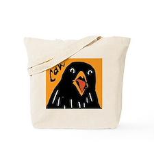 Crow Alert Tote Bag