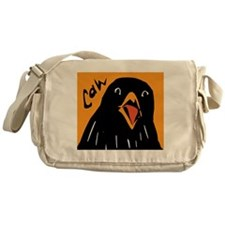 Crow Alert Messenger Bag