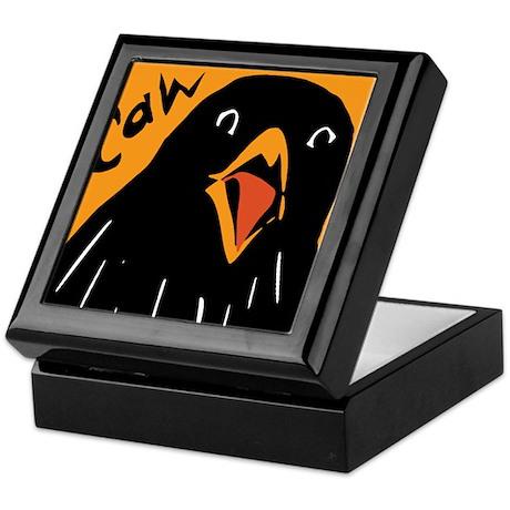 Crow Alert Keepsake Box