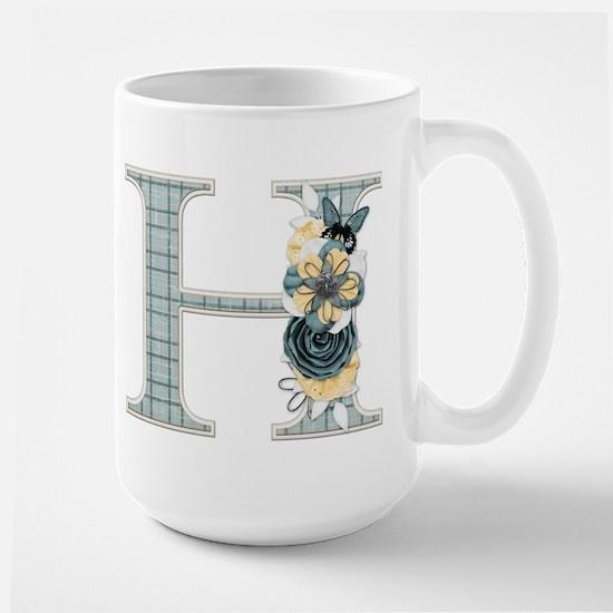 Monogram Letter H Mug