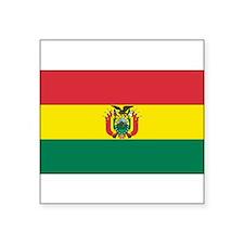 Bolivia Rectangle Sticker