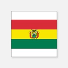 Bolivia Rectangle Sticker