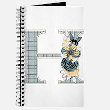 Monogram Letter H Journal