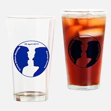 Willem-Alexander en Maxima Drinking Glass