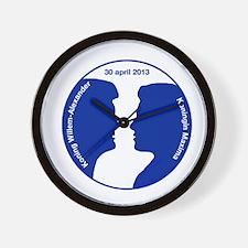 Willem-Alexander en Maxima Wall Clock