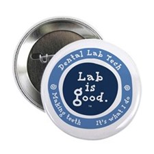 "Lab is good #3 2.25"" Button"