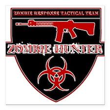 ZRTT - Zombie Response Tactical Team Square Car Ma