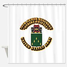 COA - 70th Armor Regiment Shower Curtain