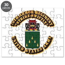 COA - 70th Armor Regiment Puzzle