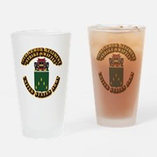 COA - 70th Armor Regiment Drinking Glass