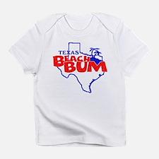 Texas Beach Bum Infant T-Shirt