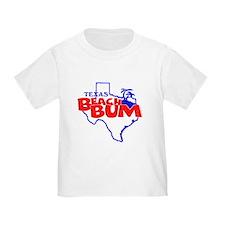 Texas Beach Bum T-Shirt