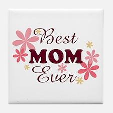 Best Mom Ever fl 1.2 Tile Coaster