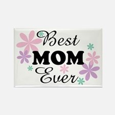 Best Mom Ever fl 1.3 Rectangle Magnet
