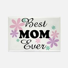 Best Mom Ever fl 1.3 Rectangle Magnet (10 pack)