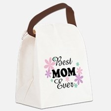 Best Mom Ever fl 1.3 Canvas Lunch Bag