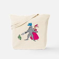 Brave Knight Tote Bag