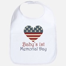 Baby's 1st Memorial Day Bib