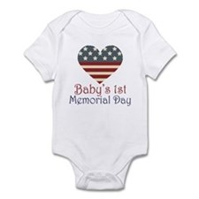 Baby's 1st Memorial Day Infant Bodysuit