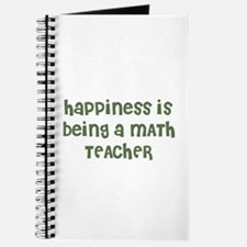Happiness is being a MATH TEA Journal