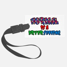 Autism Normal is A Dryer Setting Luggage Tag