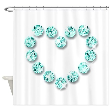 Jewelry Combination 1 Shower Curtain By Tsforus