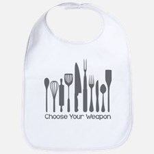 Choose Your Weapon Bib