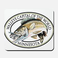 Walleye Capital of the World Mousepad