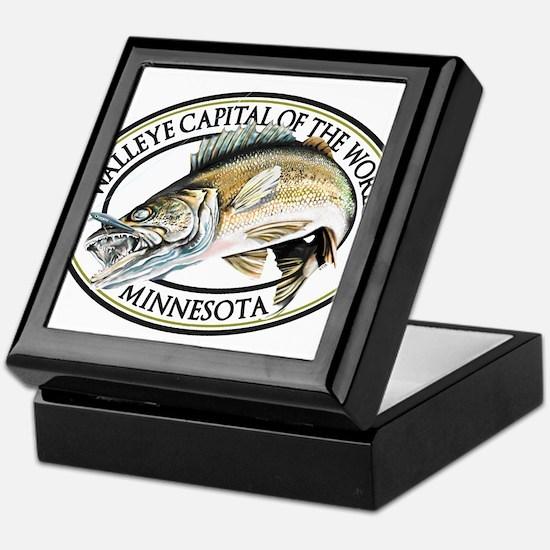 Walleye Capital of the World Keepsake Box