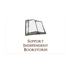 Support Independent Bookstores Wall Decal