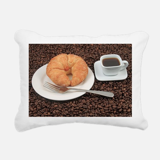 Funny Mocha Rectangular Canvas Pillow