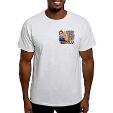 If Rosie Can Do It Leukemia T-Shirt