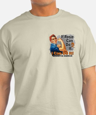 If Rosie Can Do It Leukemia T-Shirt