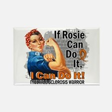 If Rosie Can Do It MS Rectangle Magnet