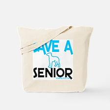 Save a senior Tote Bag