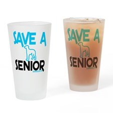 Save a senior Drinking Glass