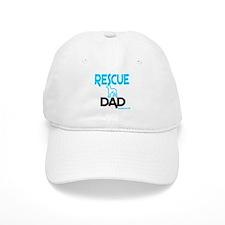 Rescue Dog Dad Baseball Baseball Cap